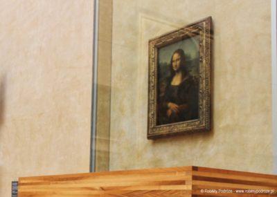 Mona Liza w Luwrze