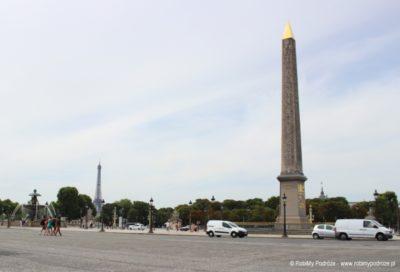 Obelisk na Placu Trocadero