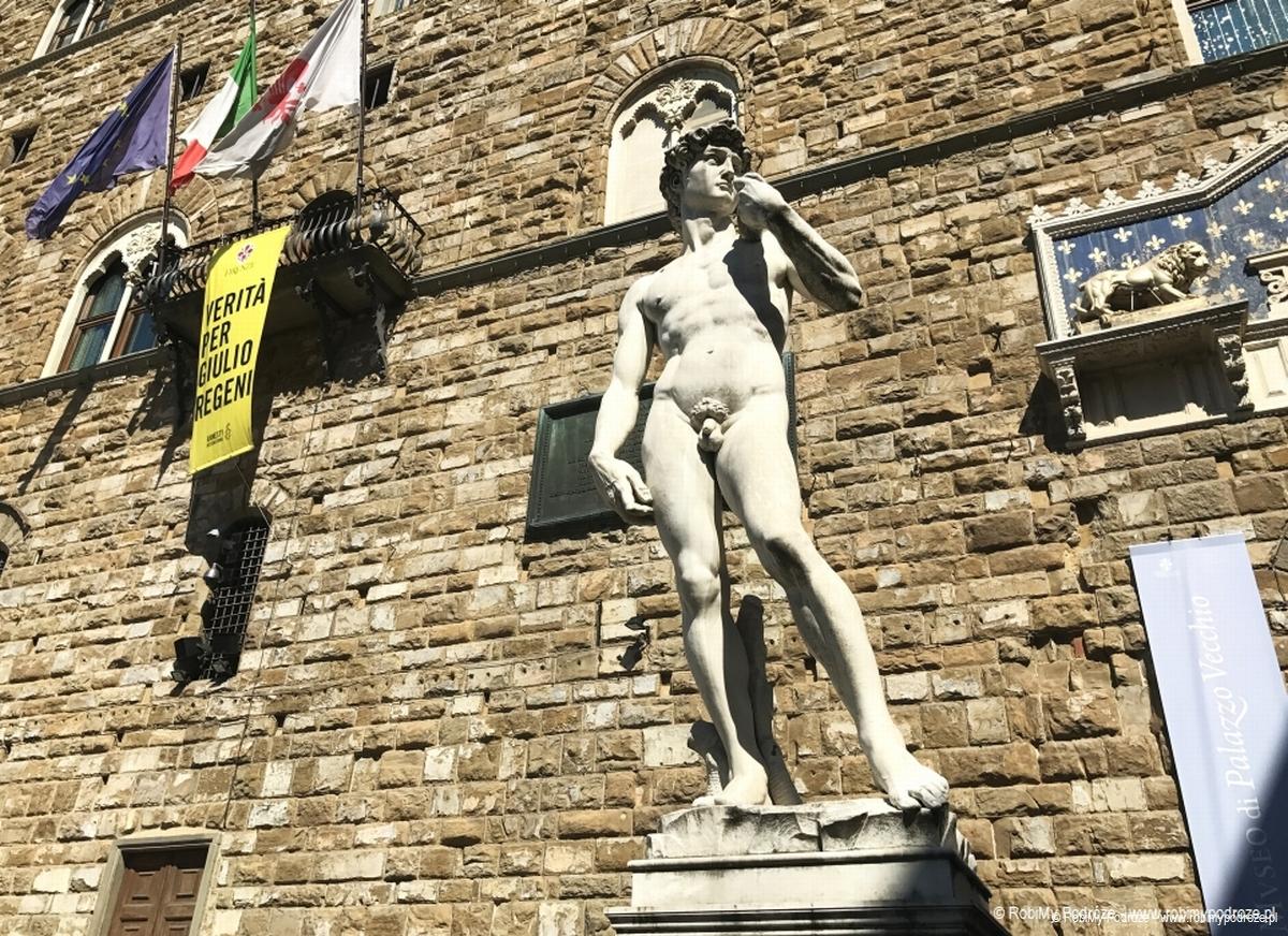 Pomnik Dawida we Florencji