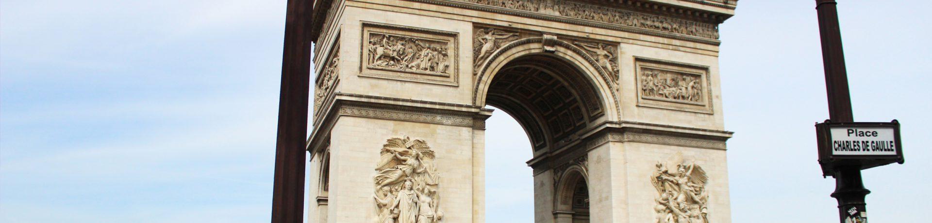 Przewodnik po Paryżu - Łuk Triumfalny