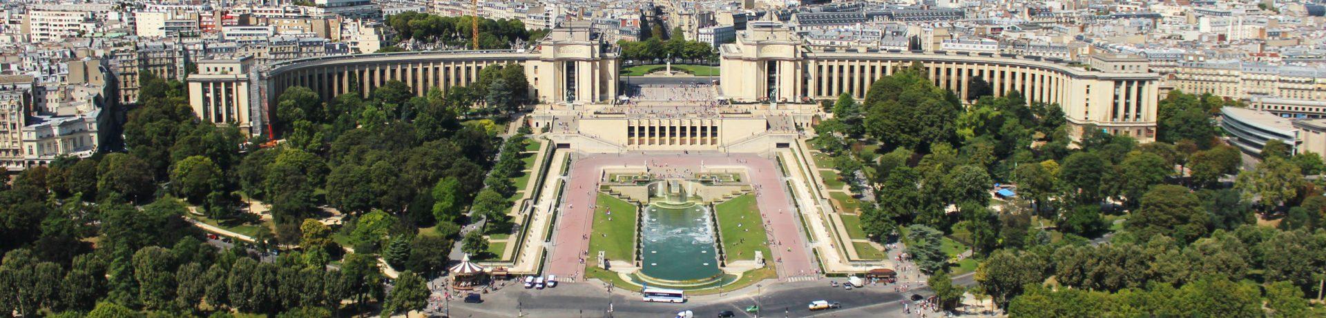 Przewodnik po Paryżu - Plac Trocadero