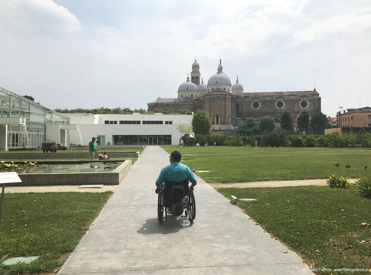 Widok na Santa Giustina w Padwie