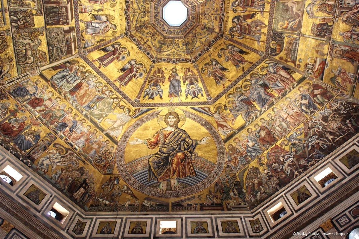 mozaika w baptysterium we Florencji