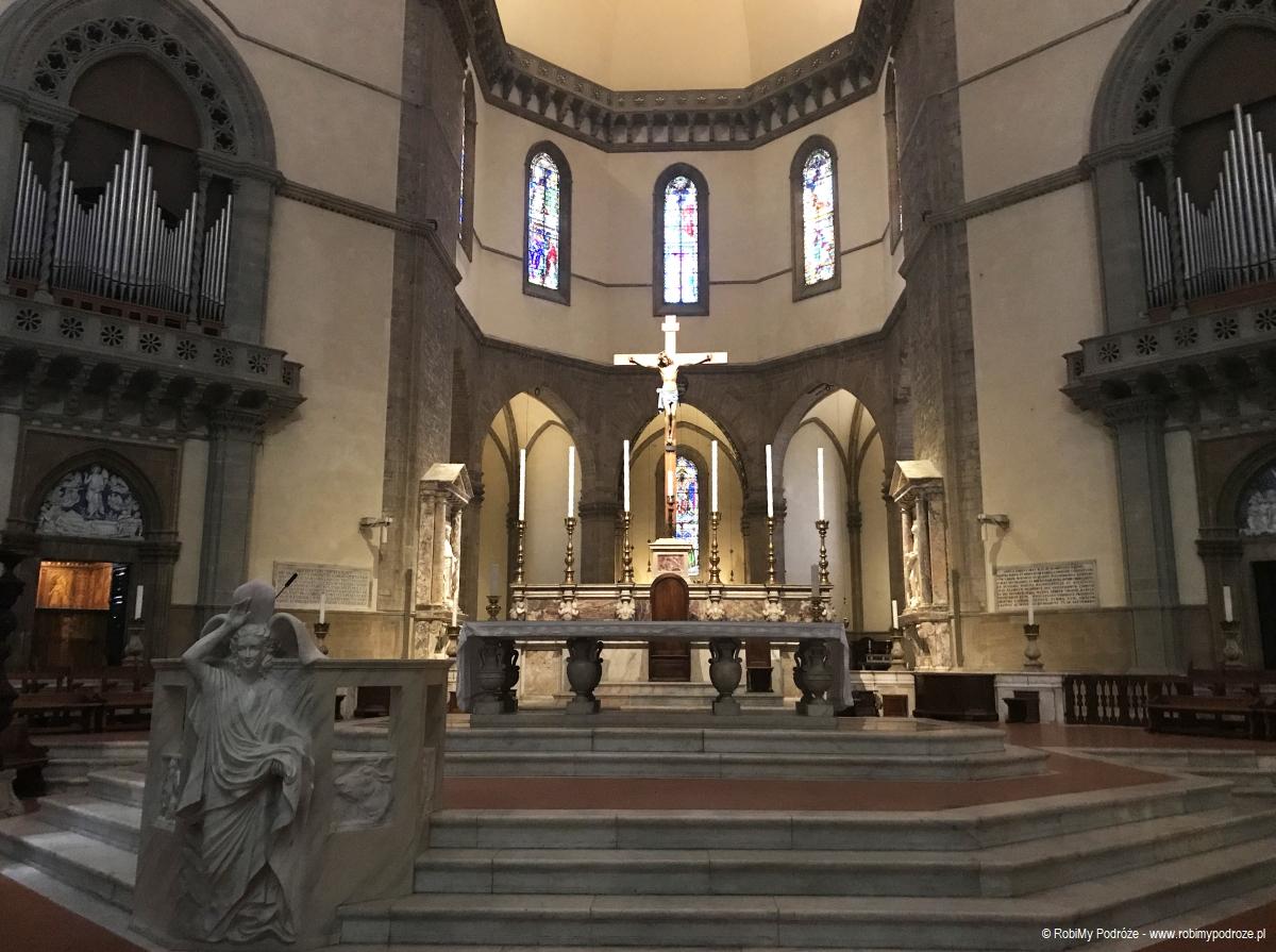 ołtarz główny Katedry - jeden dzień we Florencji
