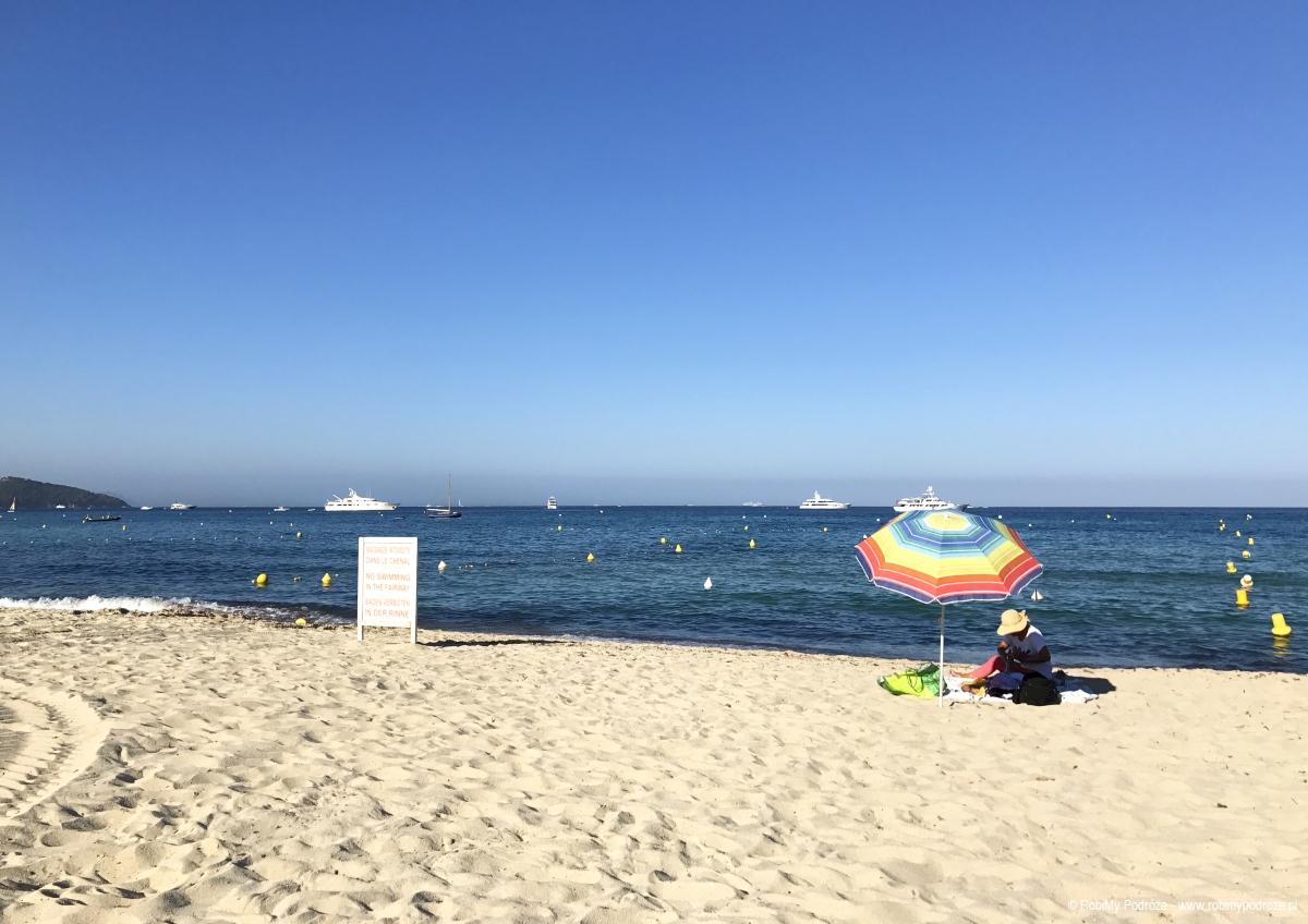 plaża Pampelonne - warto zobaczyć naLazurowym Wybrzeżu