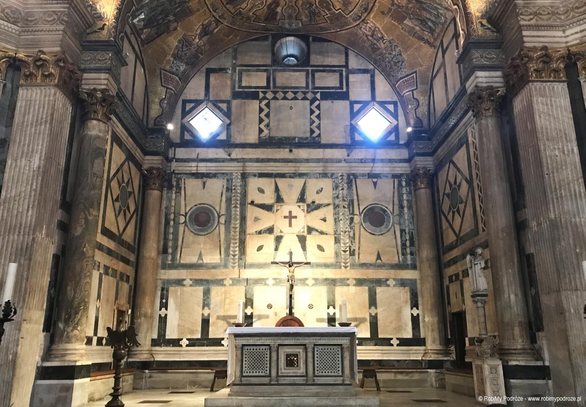symetria w Baptysterium we Florencji