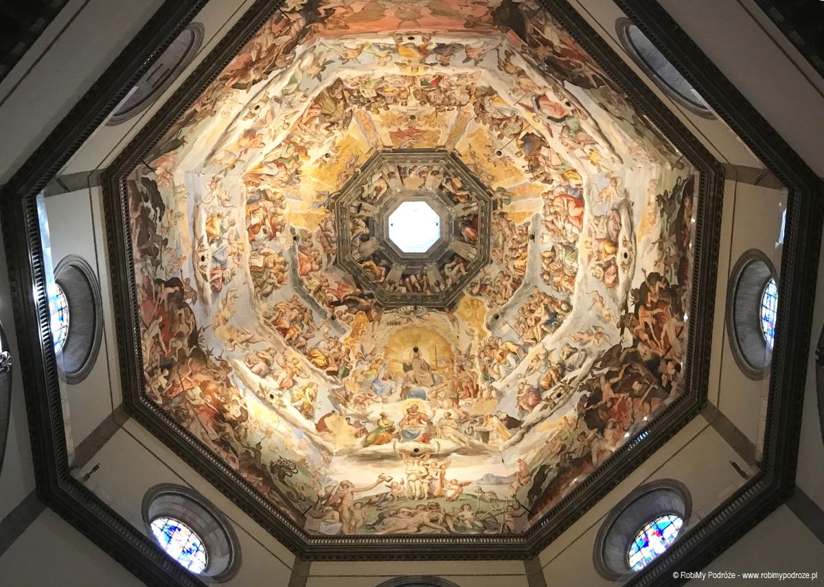 wnętrze kopuły Katedry we Florencji