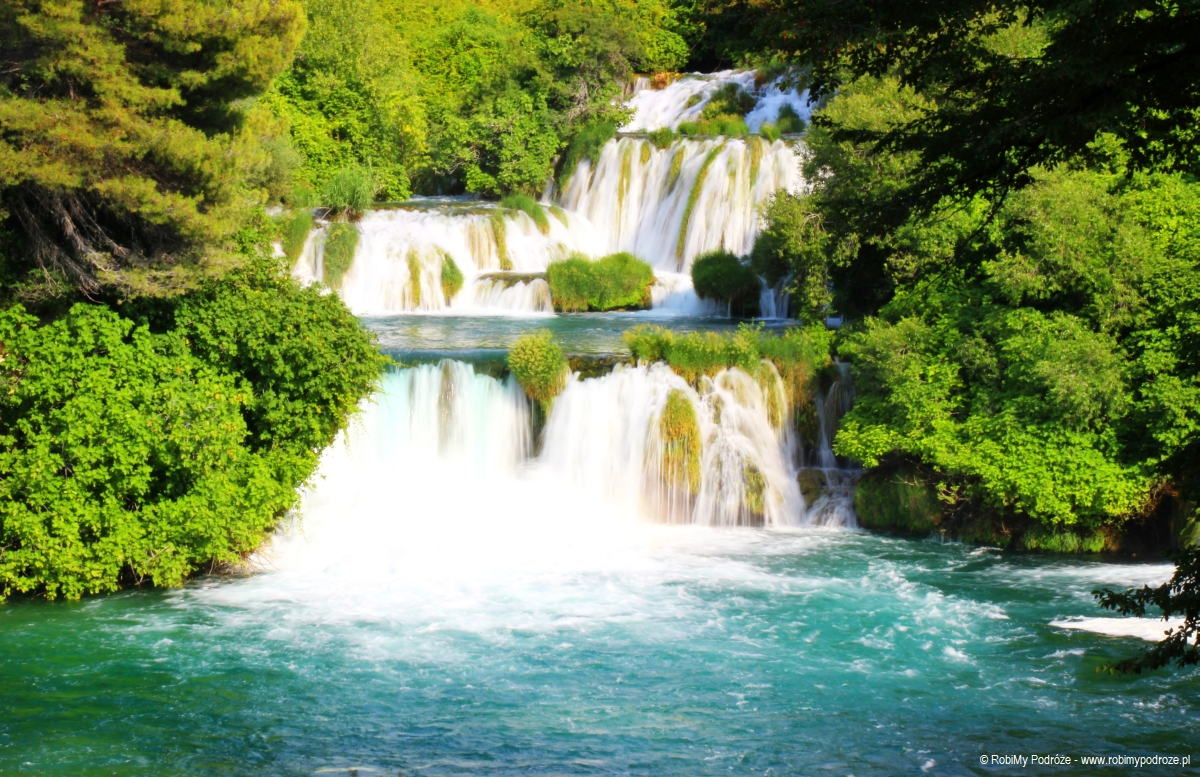 wodospady wChorwacji