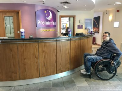 Premier Inn London Wembley Park lobby