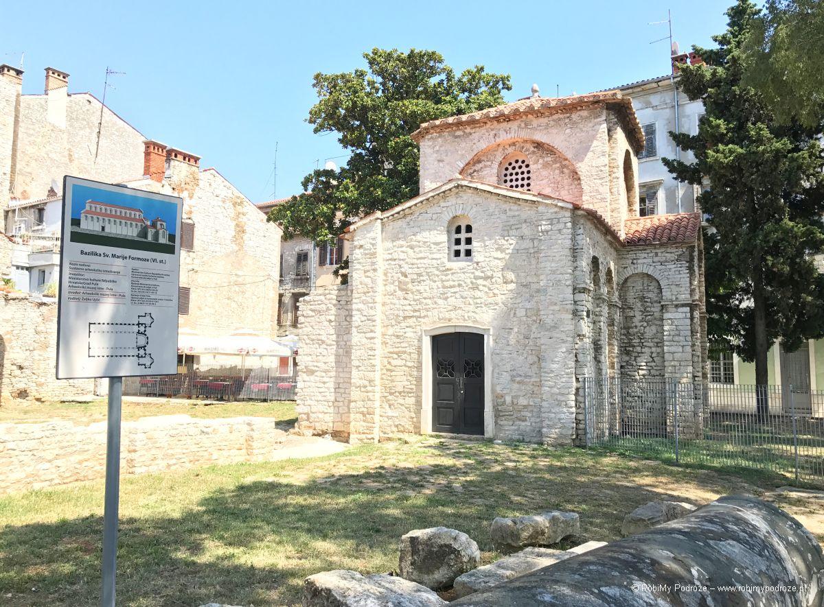 kaplica św. Marii z bliska