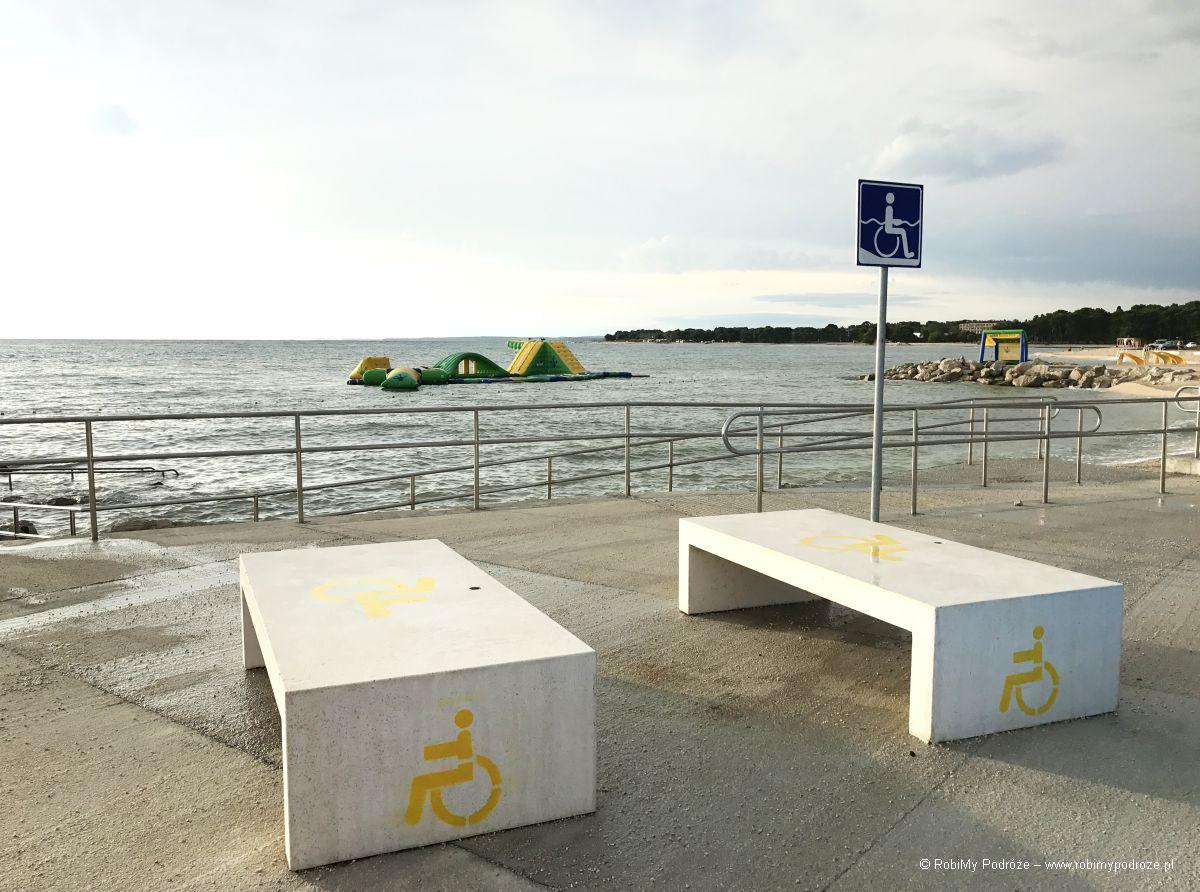 plaża atrakcja Istrii