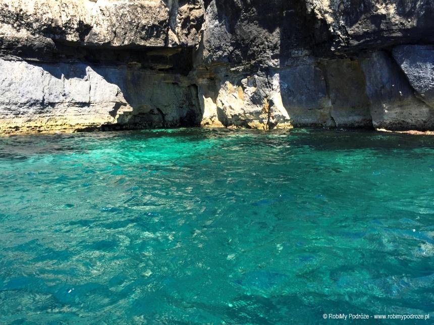 zobaczyć naMalcie Blue Grotto