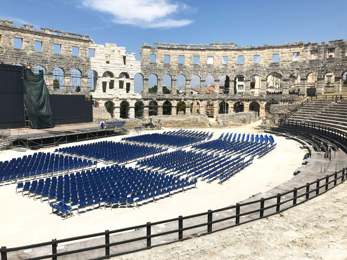 Przewodnik poPuli - amfiteatr - Chorwacja atrakcje dla niepełnosprawnych