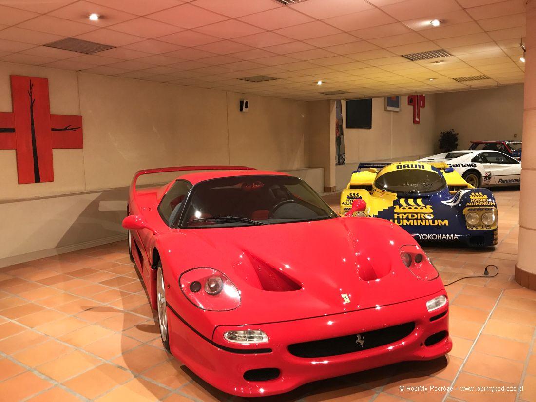 garaż Księcia Monako - Ferrari