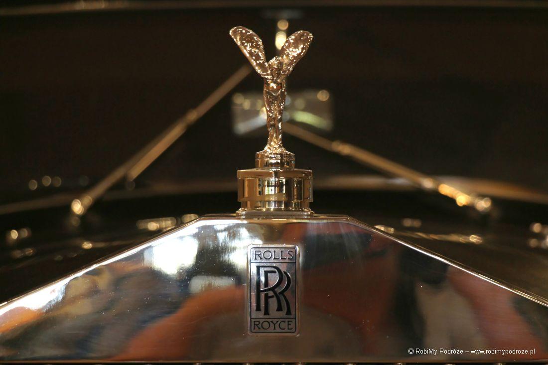 garaż Księcia Monako Rolls Royce