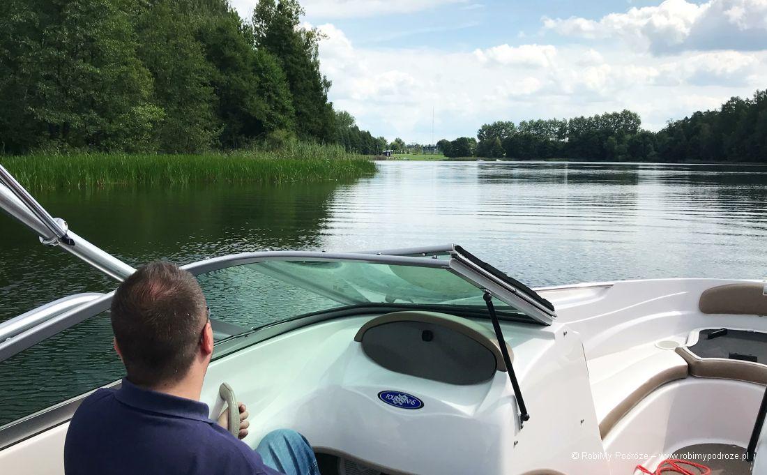jezioro Ukiel wOlsztynie - Zatoka Miła