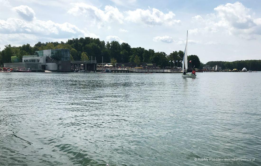 jezioro Ukiel wOlsztynie - plaża