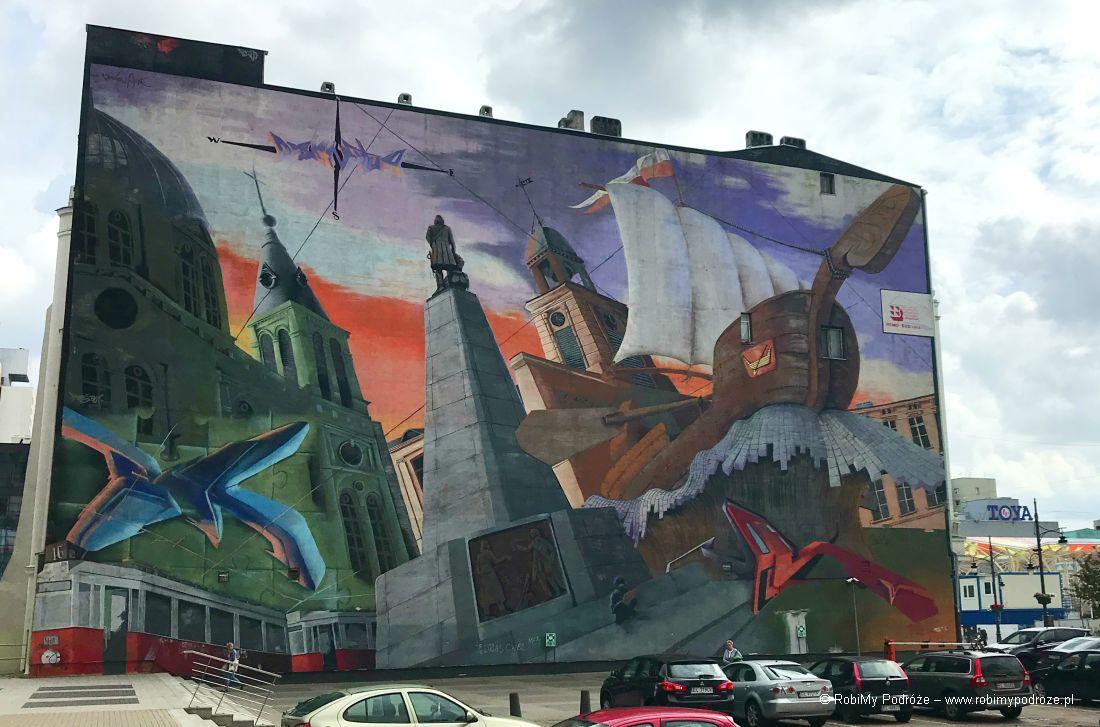 Łódzkie murale - Łódź