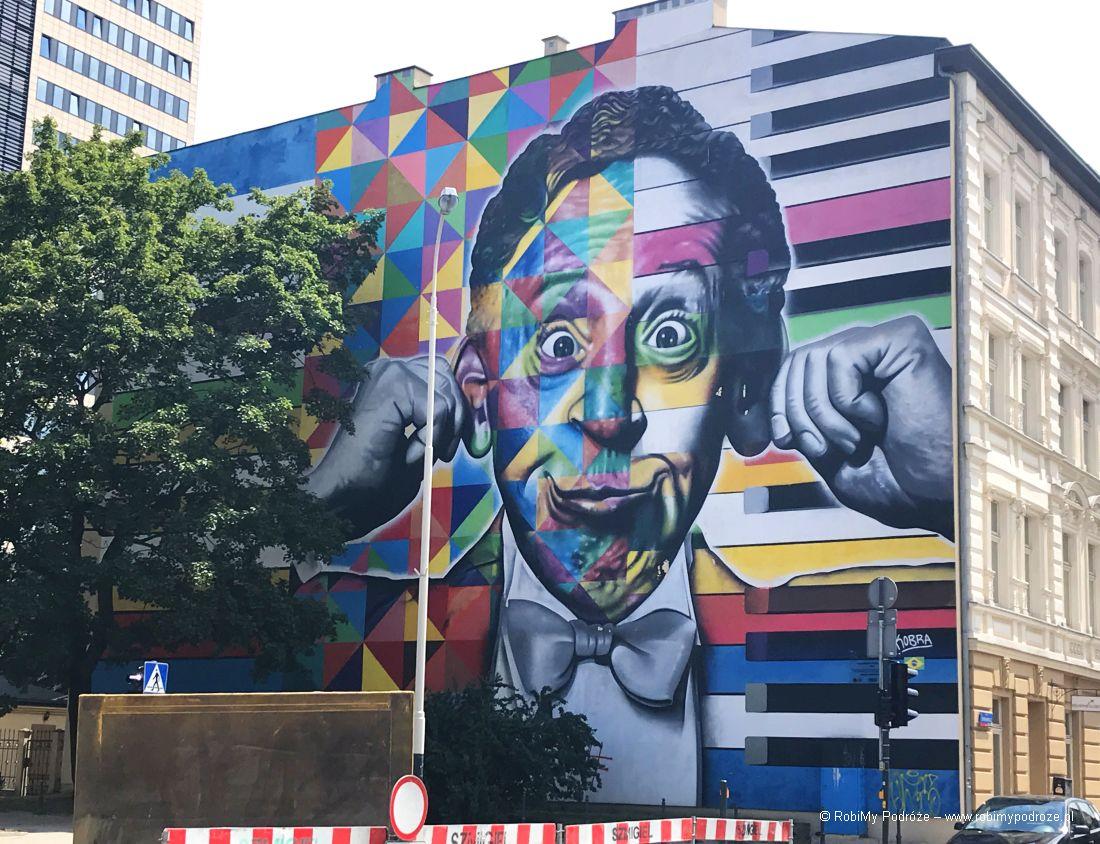 Łódzkie murale - Artur Rubinstein