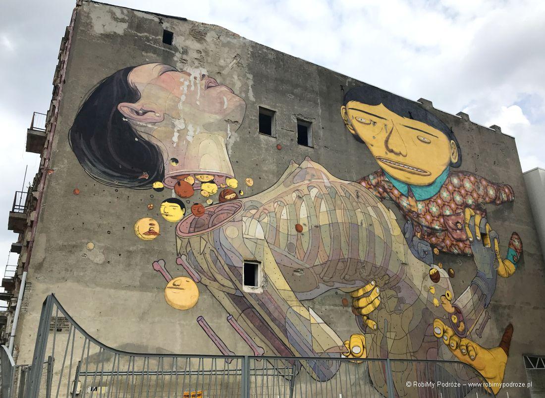 Łódzkie murale - Aryz