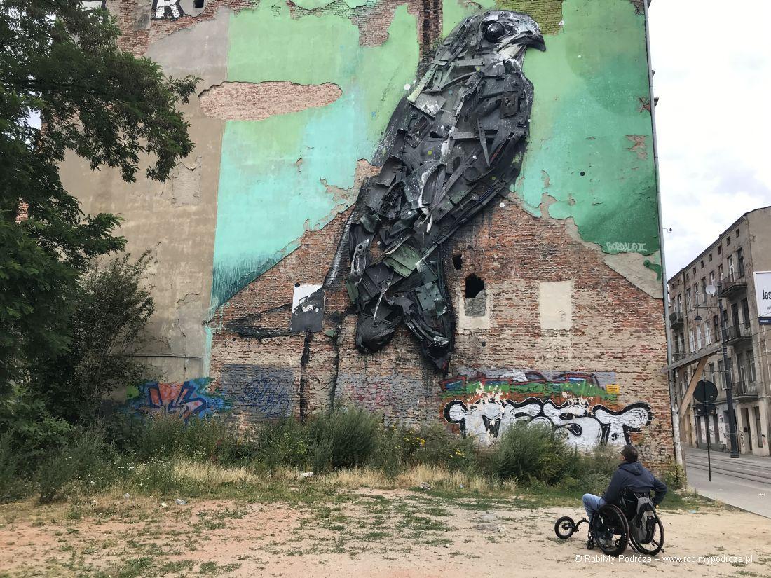 Łódzkie murale - Jerzyk