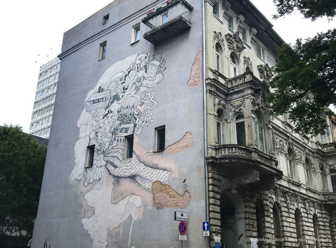Łódzkie murale - Julian Tuwim