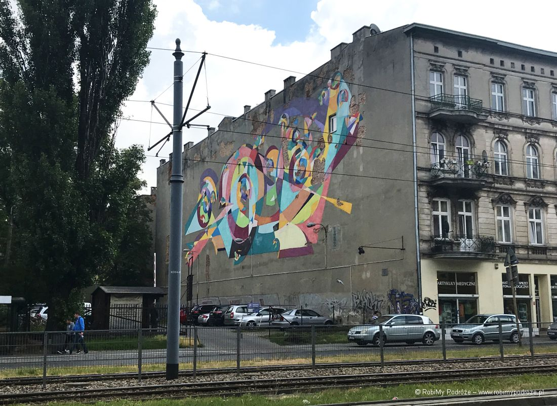 Łódzkie murale - filmowa Łódź