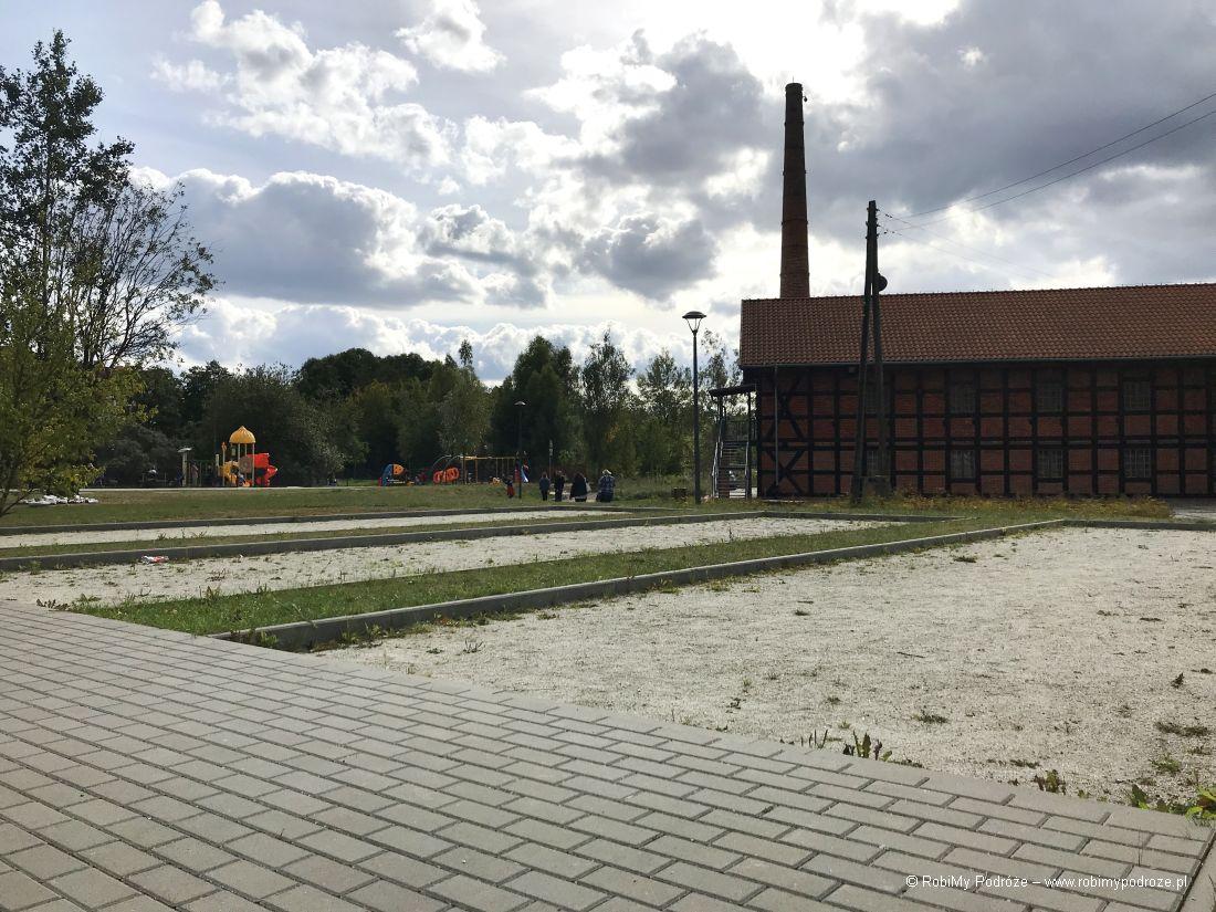 Park Centralny w Olsztynie bulodrom