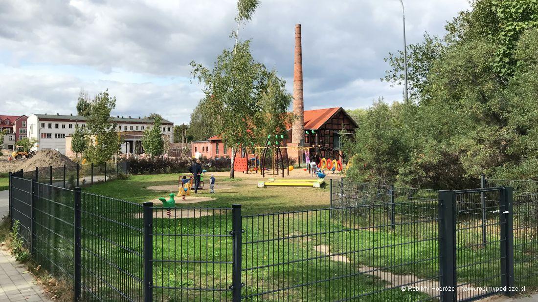 Park Centralny w Olsztynie - plac zabaw