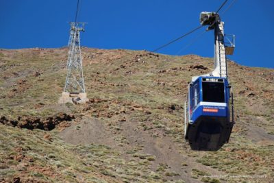 kolejka na Pico del Teide
