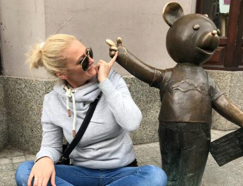 Bajkowy spacer po Łodzi, czyli Łódź bajkowa