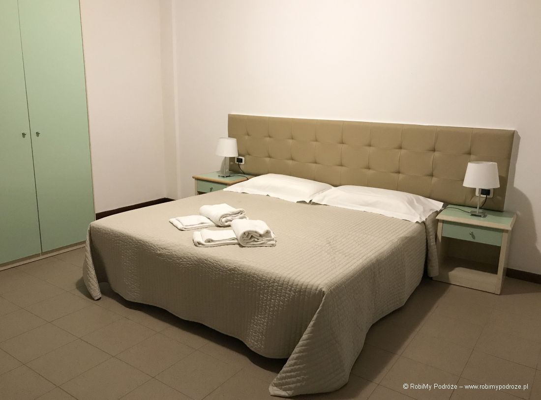 Residence Viale Venezia wWeronie sypialnia