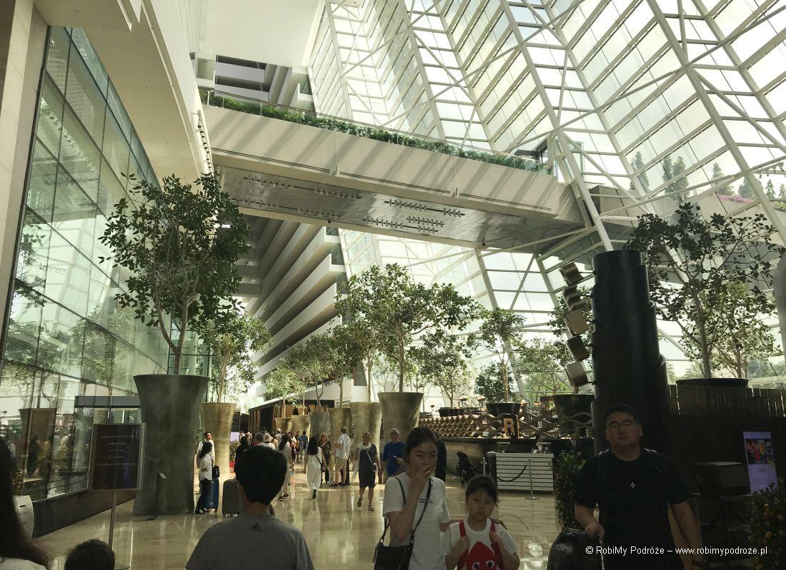 Marina Bay Sands wewnątrz