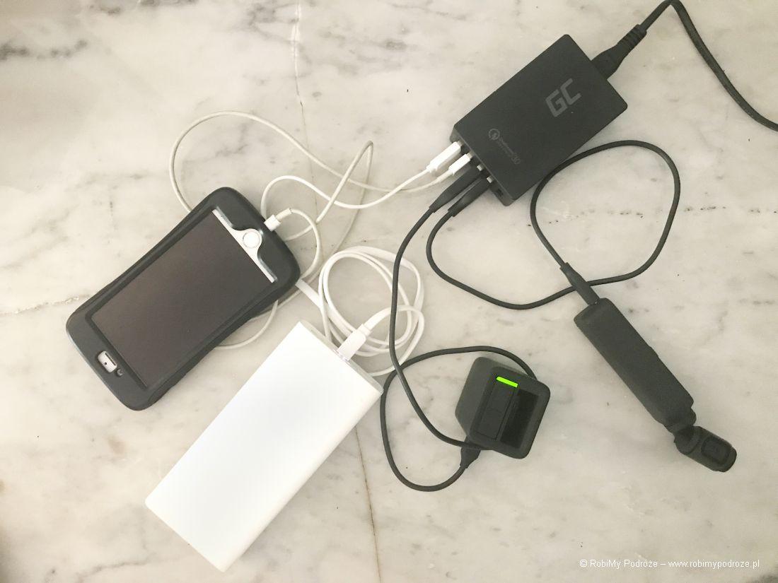 multi ładowarka USB