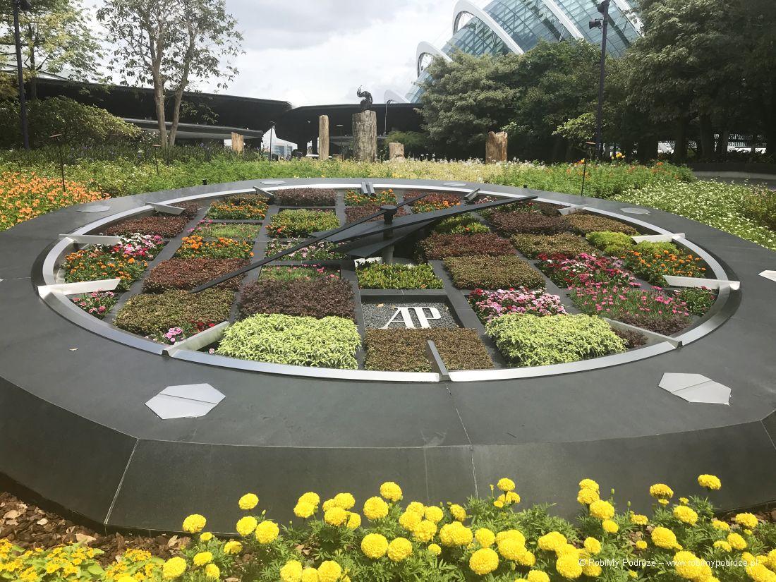 zegar Gardens bythe Bay Singapur