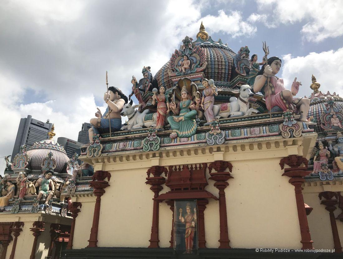 świątynia hindyska wSingapurze