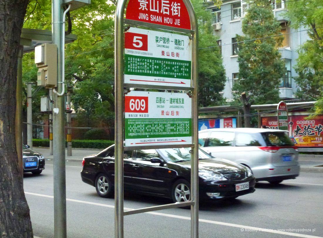 Autobusy w Pekinie
