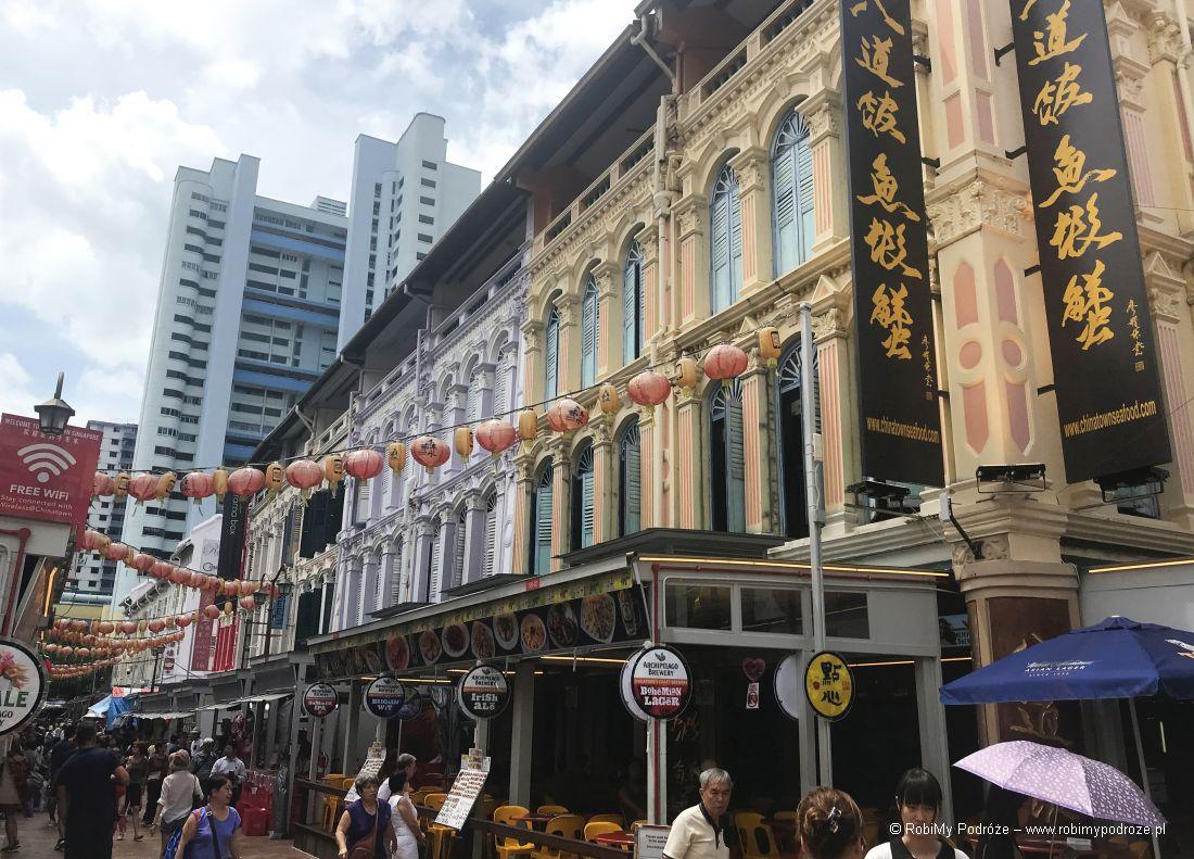 Chinatown wSingapurze - Plan zwiedzana Singapuru
