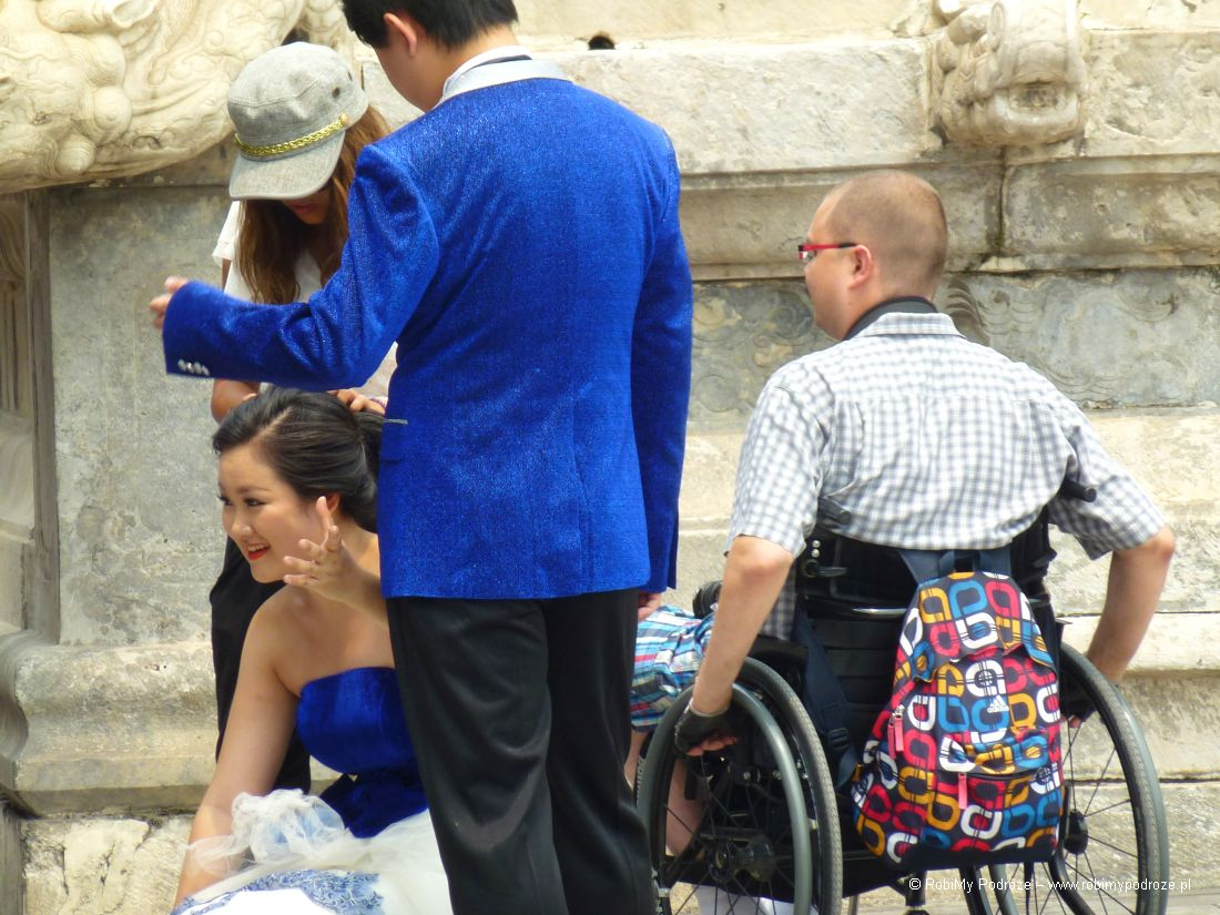 Komunikacja wPekinie dla niepełnosprawnych