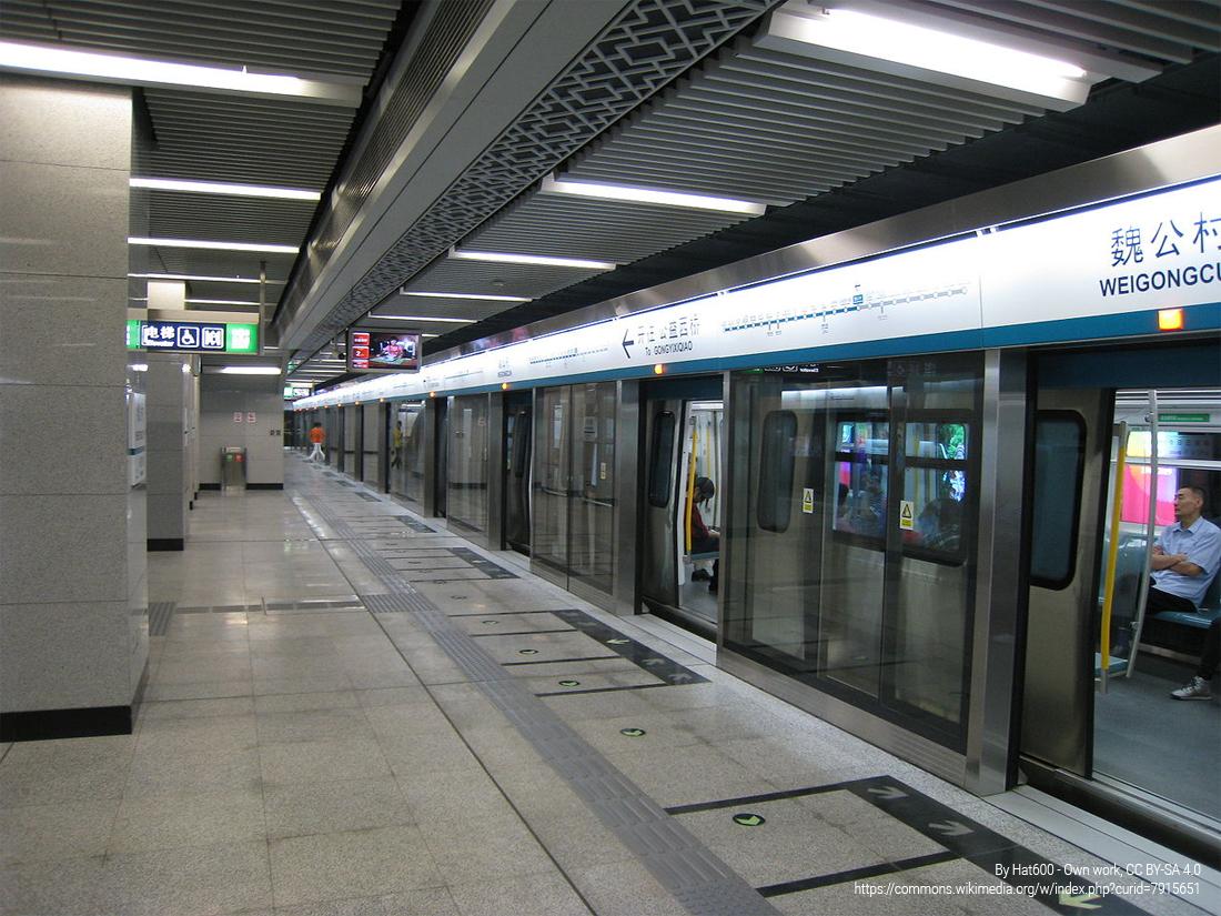 metro wPekinie
