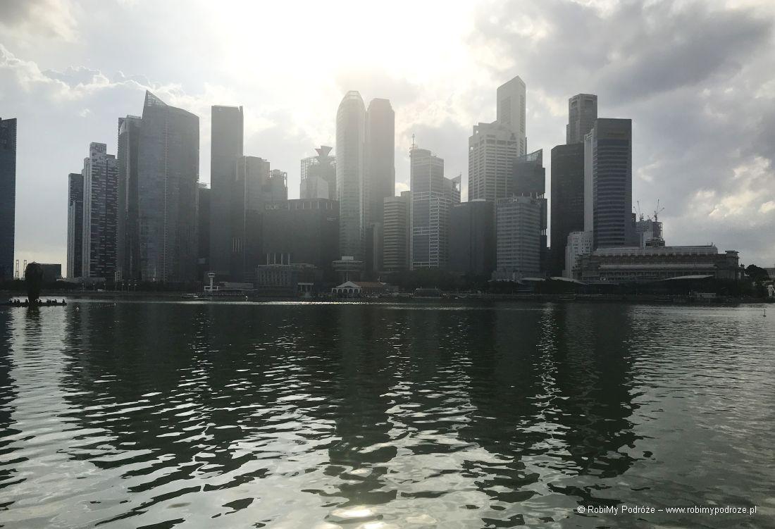 plan zwiedzania Singapuru - budynki