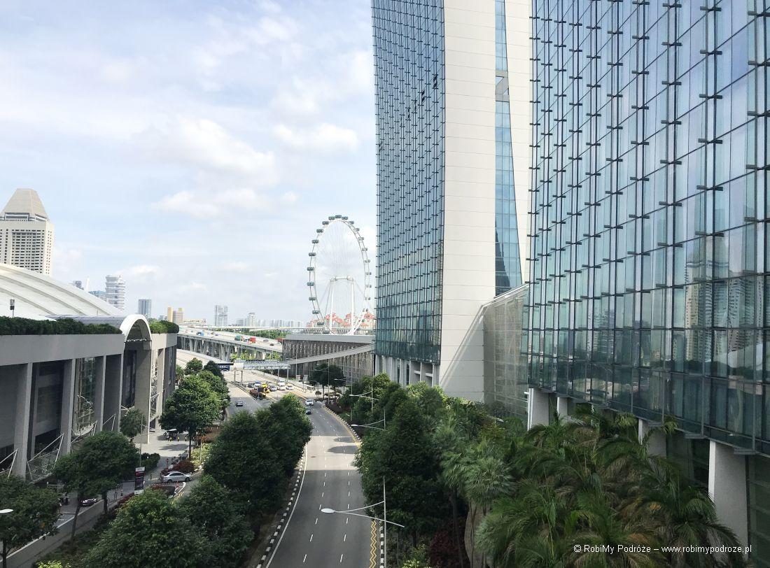 plan zwiedzania Singapuru - widok