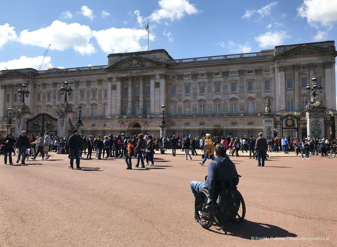 Buckingham Palace wLondynie