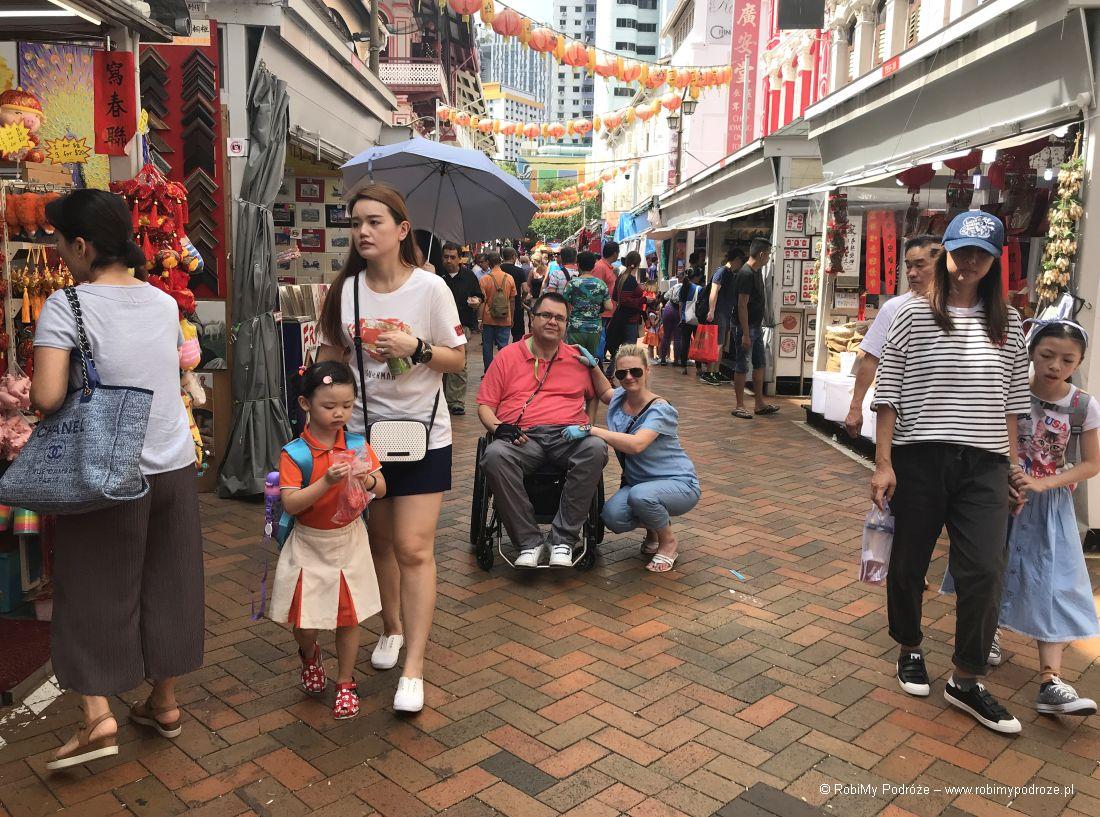 Chinatown wSingapurze