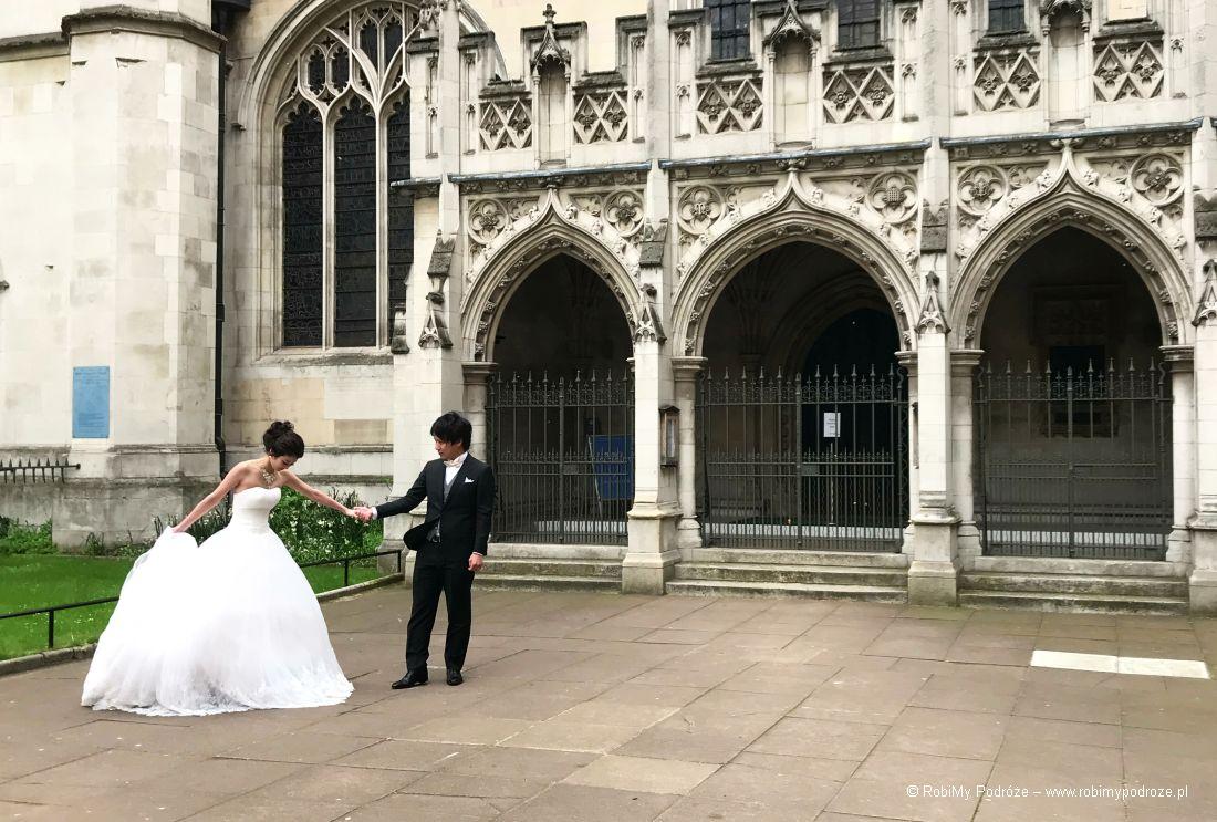 Opactwo Westminster - ślub namajówka wLondynie
