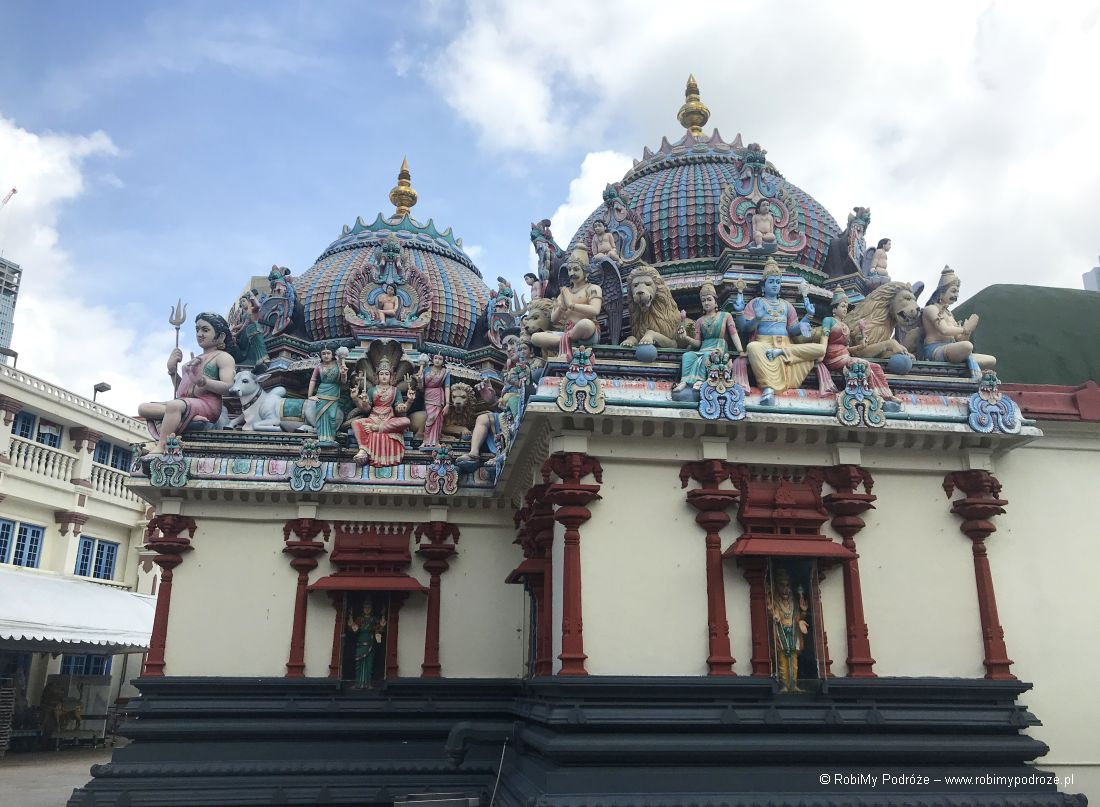 Sri Mariamman Temple wSingapurze