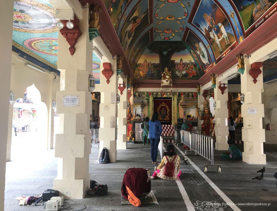 nawa główna Sri Mariamman Temple wSingapurze