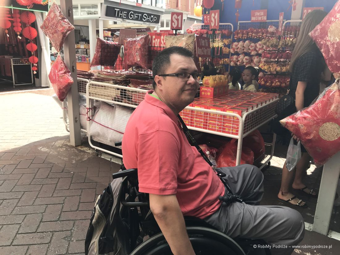 stragany wChinatown - dzień wSingapurze