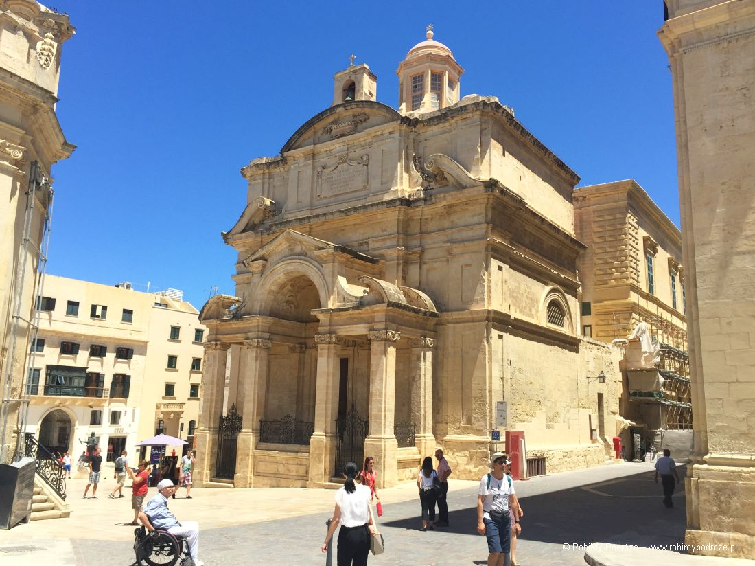 Valletta - stolica atrakcje Malty
