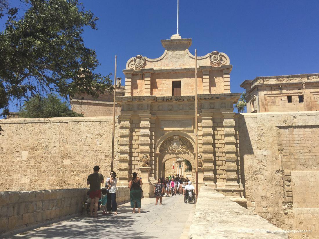 Mdina - atrakcje Malty